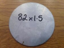 1.5mm Round Disc Circle Stainless Steel Sheet Plate 82x1.5