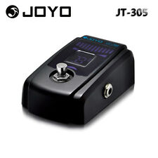 Joyo JT-305 Electric Guitar Tuner Bypass Pedal True Metal Housing 4 Display Mode