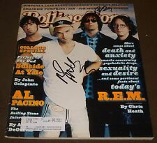 R.E.M. SIGNED ROLLING STONE MAGAZINE #745 OCTOBER 17, 1996 MIKE MILLS PETER BUCK