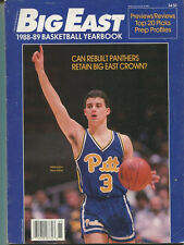 Big East 1988-1989 Basketball Yearbook Sean Miller Stacy Augmon   MBX78