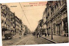 CPA ROUBAIX .- Rue de la gare  (193757)