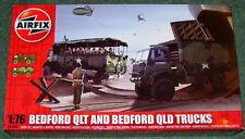 AIRFIX BEDFORD QLT & BEDFORD QLD TRUCKS NEW MINT & SEALED 1/76