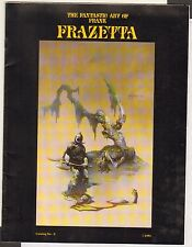 1991 ~ Fantastic Art Frank Frazetta #3 / Art Catalog VF+ ~~ WH