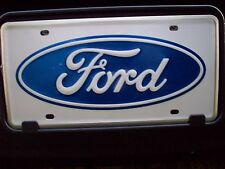 2007 2008 2009 2010 2011 2012 2013 FORD F150 FORD LOGO FRONT LICENSE PLATE
