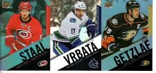 2015-16 Tim Horton's UD Pick your single base cards 5 for $1, .35each additional