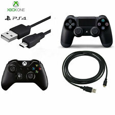 3M 10ft Long USB Charging Charger Play Cable Lead For PS4 & XBOX ONE Controller