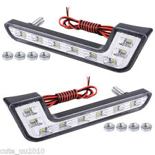 """A pair of """"L"""" Car super bright LED daytime running lights Waterproof&shockproof"""