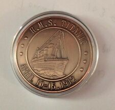 2012 Cook Islands Titanic Commemorative Coin 40mm (In Capsule)