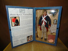 Action Figure 1/6 Sideshow Delaware Rgt Revolutionary War French Blue Coat