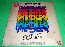 PHILIPPINES:MD.X ENSEMBLE - Special Medley,Concept X.LP,60's,70's Pop Medley