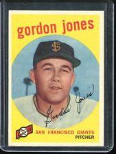 1959   Topps    Baseball     # 458   Gordon Jones   EX   Excellent