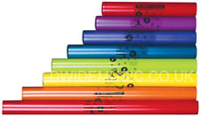 Boomwhackers 'Boomophone' C Major Diatonic Set of 8 Musical Tubes - Notes C to C