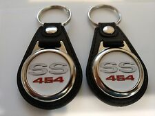 1970 CHEVY CHEVELLE SS 454 KEYCHAIN 2 PACK FOB LOGO