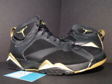 Nike Air Jordan VII 7 Retro GMP GOLDEN MOMENT GOLD MEDAL PACK BLACK WHITE 12