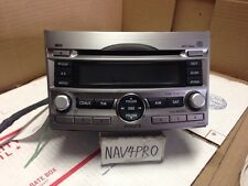 2010 2011 2012 SUBARU LEGACY CD Player Radio OEM #60 10 11 12 Mp3 Wpa