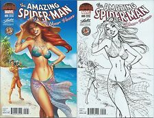 AMAZING SPIDERMAN RENEW YOUR VOWS 5 J SCOTT CAMPBELL HAWAII COLOR SKETCH VARIANT
