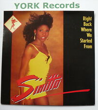 "SINITTA - Right Back Where We Started From - Ex Con 7"" Single Fanfare FAN 18"