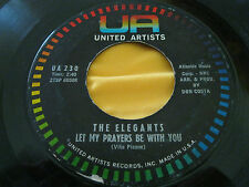 Vocal Group 45: The  Elegants on UA - Speak Low & Prayers Be With You