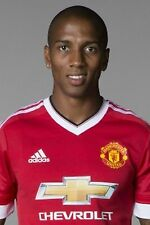 Football Photo ASHLEY YOUNG Man Utd 2015-16
