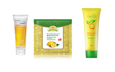TianDe Lemon Universal peeling, Fresh Lemon Body Salt Scrub and lemon cream