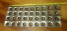 50 x 550 x 1.2mm 3/4 hole Dimple Die Gussets, Drift, Drag, Fab, Offroad