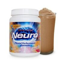 Nutrition53 NEURO1 Brain Food L-Carnitine Vinpocetine DMAE Piracetam CHOCOLATE