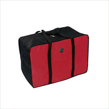 Heys Travel Concepts Dublin 36-Inch Red and Black Cargo Luggage Bag