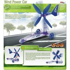 Wind Power Car - DIY Wind Energy Recycle Educational Toy Car Kit