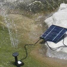 Solar-Powered Brushless Pump For Fountain/Water Cycle/Pond Fountain New N1N8