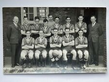 SWINDON FOOTBALL calcio 1936 1937 old postcard cartolina fotografica England