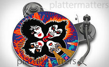 "Limited Edition Record Collector's KISS 7"" or 12"" inch TURNTABLE platter MAT new"