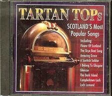 Tartan Tops - Scotland's Most Popular Songs - Various Artists (CD, 2006)