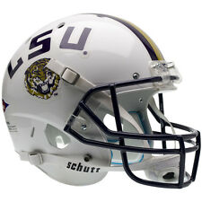 LSU TIGERS WHITE SCHUTT XP FULL SIZE REPLICA FOOTBALL HELMET