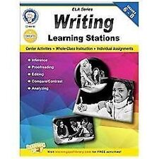 Writing Learning Stations, Grades 6 - 8 (English Language Arts)