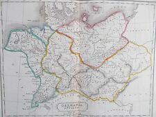 Map of Ancient German Empire. 1826. Butler. EUROPE. ROMAN EMPIRE