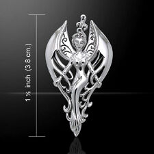 Guardian Angel .925 Sterling Silver Pendant by Peter Stone