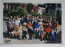 Eastenders Cast photo late 1990s signed printed signatures on back