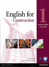 Pearson ENGLISH FOR CONSTRUCTION 1 Course Book with CD-ROM @NEW@