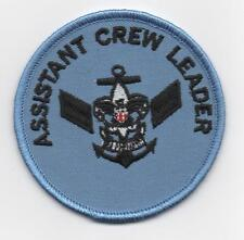 "Sea Scout Assistant Crew Leader Position (New Design), 3"" Round, ""BSA 2010"" Back"