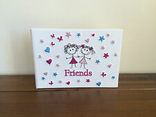 New Girl Friends Photo Album/Brag Book Gift Holds 24