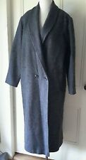 Jaguar Fashions Single double breasted Long Wool Dress Over Coat Womens 11/12