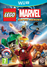 Lego Marvel Super Heroes Nintendo WII U IT IMPORT WARNER BROS