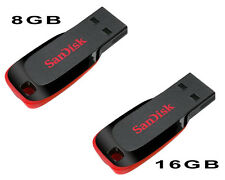 Combo of sandisk 8GB & 16GB pendrive