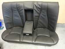 2000-2002 MERCEDES BENZ  S500 S430 W220 REAR  LEATHER SEAT BLACK