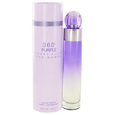 Perry Ellis 360 Purple Perfume 3.4oz Eau De Parfum MSRP $60 NIB