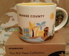 Starbucks Coffee Mug/Tasse/Becher ORANGE COUNTY, yah, NEU m.Sticker in OVP-Box!!