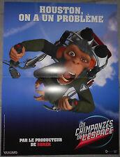 Affiche LES CHIMPANZES DE L'ESPACE Space Chimps KIRK DE MICCO 40x60cm