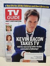 TV Guide Magazine January 21 2013 Kevin Bacon Justified Private Practice