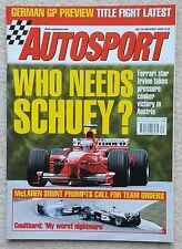 Autosport Revista 29th de Julio de 1999