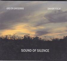 GIGI DI GREGORIO / DAVIDE CALVI - sound of silence CD